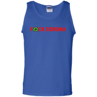 F*CK CORONA - G220 100% Cotton Tank Top