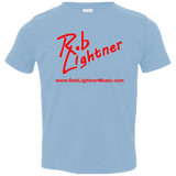 2018 Rob Lightner Summer Tour Red Logo 3321 Rabbit Skins Toddler Jersey T-Shirt
