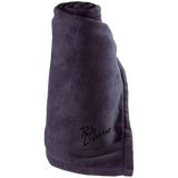 Rob Lightner Black Logo 223856 Holloway Large Fleece Blanket