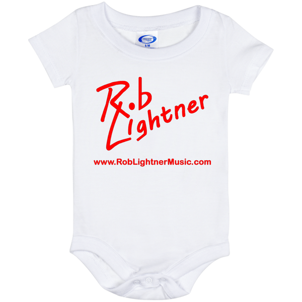 Rob Lightner Red Logo Baby Onesie 6 Month