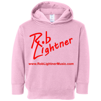 Rob Lightner Red Logo - 3326 Rabbit Skins Toddler Fleece Hoodie