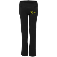 Rob Lightner Yellow Logo S16 Boxercraft Ladies' Yoga Pants