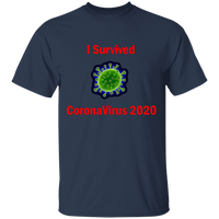 I Survived CoronaVirus 2020 - G500 5.3 oz. T-Shirt