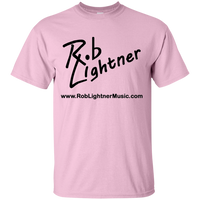 2018 Rob Lightner Summer Tour Black Logo G200 Gildan Ultra Cotton T-Shirt