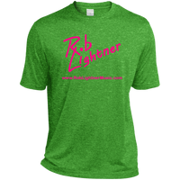 2019 Rob Lightner Summer Tour Pink Logo ST360 Sport-Tek Heather Dri-Fit Moisture-Wicking T-Shirt
