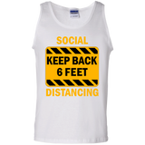 Social Distancing - G220 100% Cotton Tank Top