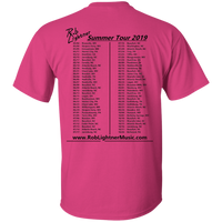 2019 Rob Lightner Summer Tour Black Logo - G200 Gildan Ultra Cotton T-Shirt