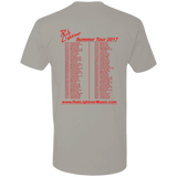 Rob Lightner - 2017 Summer Tour - NL3600 Next Level Premium Short Sleeve T-Shirt