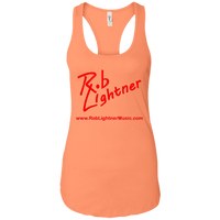 2019 Rob Lightner Summer Tour Pink Logo NL1533 Next Level Ladies Ideal Racerback Tank