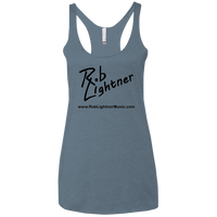 Rob Lightner Logo Icon - NL6733 Next Level Ladies' Triblend Racerback Tank