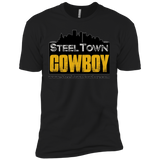 SteelTown Cowboy - NL3600 Next Level Premium Short Sleeve T-Shirt