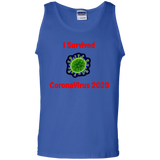 I Survived CoronaVirus 2020 - G220 100% Cotton Tank Top