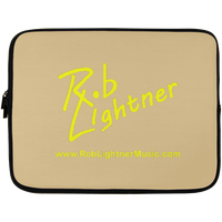 Rob Lightner Yellow Logo Laptop Sleeve - 13 inch