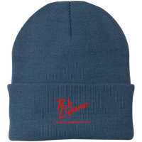 Rob Lightner Red Logo CP90 Port Authority Knit Cap
