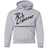 2019 Rob Lightner Summer Tour Black Logo G185B Gildan Youth Pullover Hoodie