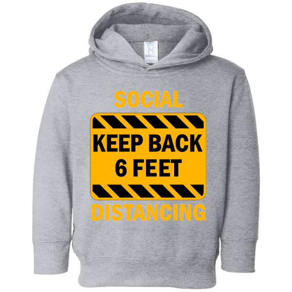 Social Distancing - 3326 Toddler Fleece Hoodie