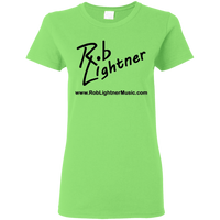 2019 Rob Lightner Summer Tour Black Logo G500L Gildan Ladies' 5.3 oz. T-Shirt