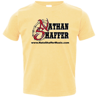 Nathan Shaffer 2018 Summer Tour 3321 Rabbit Skins Toddler Jersey T-Shirt