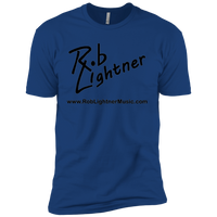 2018 Rob Lightner Summer Tour Black Logo NL3600 Next Level Premium Short Sleeve T-Shirt