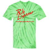 Rob Lightner 2018 Summer Tour Red Logo CD100 100% Cotton Tie Dye T-Shirt