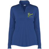 Rob Lightner Yellow Logo LST357 Sport-Tek Ladies' Competitor 1/4-Zip Pullover