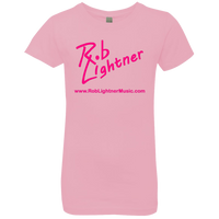 2019 Rob Lightner Summer Tour Pink Logo NL3710 Next Level Girls' Princess T-Shirt