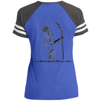 DM476 Disctrict Ladies' Game V-Neck T-Shirt