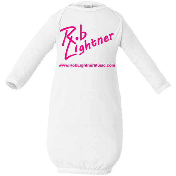 2019 Rob Lightner Summer Tour Pink Logo 4406 Rabbit Skins Infant Layette