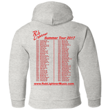 Rob Lightner 2017 Summer Tour - G185B Gildan Youth Pullover Hoodie