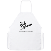 Rob Lightner Black Logo BBQ Apron