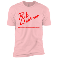 2019 Rob Lightner Summer Tour Red Logo NL3310 Next Level Boys' Cotton T-Shirt