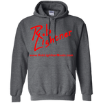 2018 Rob Lightner Summer Tour Red Logo G185 Gildan Pullover Hoodie 8 oz.