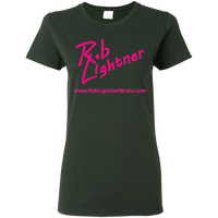 2019 Rob Lightner Summer Tour Pink Logo G500L Gildan Ladies' 5.3 oz. T-Shirt