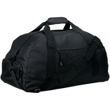 Rob Lightner Black Logo BG980 Port & Co. Basic Large-Sized Duffel Bag