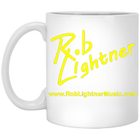 Rob Lightner Yellow Logo XP8434 11 oz. White Mug