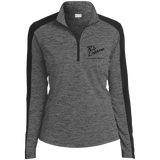Rob Lightner Black Logo LST397 Sport-Tek Ladies' Electric Heather Colorblock 1/4-Zip Pullover