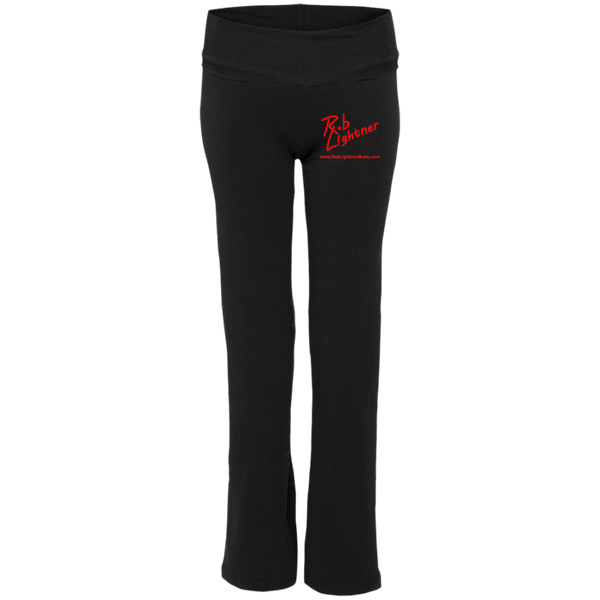 Rob Lightner Red Logo S16 Boxercraft Ladies' Yoga Pants