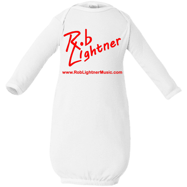 2019 Rob Lightner Summer Tour Red Logo 4406 Rabbit Skins Infant Layette