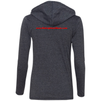 Rob Lightner Red Logo - 887L Anvil Ladies' LS T-Shirt Hoodie