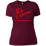 2019 Rob Lightner Summer Tour Pink Logo NL3900 Next Level Ladies' Boyfriend T-Shirt