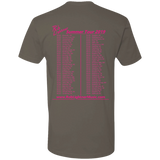 2019 Rob Lightner Summer Tour Pink Logo NL3600 Next Level Premium Short Sleeve T-Shirt