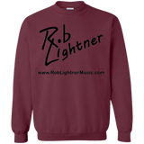 2018 Rob Lightner Summer Tour Black Logo G180 Gildan Crewneck Pullover Sweatshirt  8 oz.