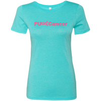 FUC< Cancer NL6710 Next Level Ladies' Triblend T-Shirt