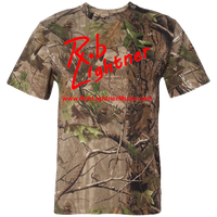 2018 Rob Lightner Summer Tour Red Logo 3980 Code V Short Sleeve Camouflage T-Shirt