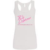 2018 Rob Lightner Summer Tour Pink Logo G645RL Gildan Ladies' Softstyle Racerback Tank