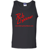 2019 Rob Lightner Summer Tour Pink Logo G220 Gildan 100% Cotton Tank Top