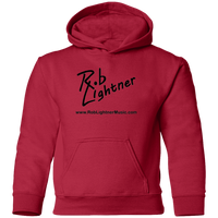 Rob Lightner Black Logo Icon Hoodie - CAR78TH Precious Cargo Toddler Pullover Hoodie
