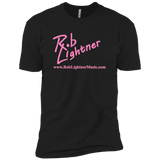 2018 Rob Lightner Summer Tour Pink Logo NL3600 Next Level Premium Short Sleeve T-Shirt