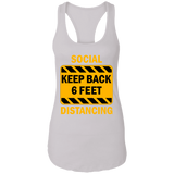 Social Distancing - NL1533 Ladies Ideal Racerback Tank