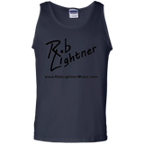 2019 Rob Lightner Summer Tour Black Logo G220 Gildan 100% Cotton Tank Top